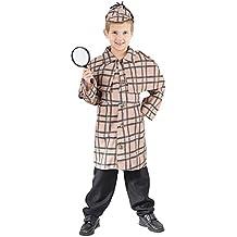 Detective Fancy Dress Costume (child size) 8-10 Years (disfraz)