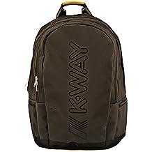 K-Way - 7akk81230p701, Mochilas Hombre, Nero (0p7 Coffee Black), 13x45x33 cm (W x H L)
