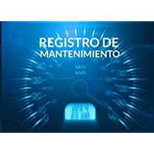 Registro de mantenimiento: Libro de mantenimiento del coche - 20,96 cm x 15,24 cm, 101 páginas - Páginas prefabricadas para llevar un registro ... - Adecuado para cualquier fabricante.