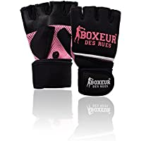 Boxeur Des Rues Serie Fight Activewear Guanti Da Fit-boxing, Unisex – Adulto, Fuxia, L-XL