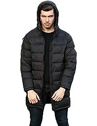 Cebbay Abrigo de algodón de los Hombres Cálido y Confortable otoño e Invierno.Chaqueta Exterior Moda Ocio Deportivo Liquidación