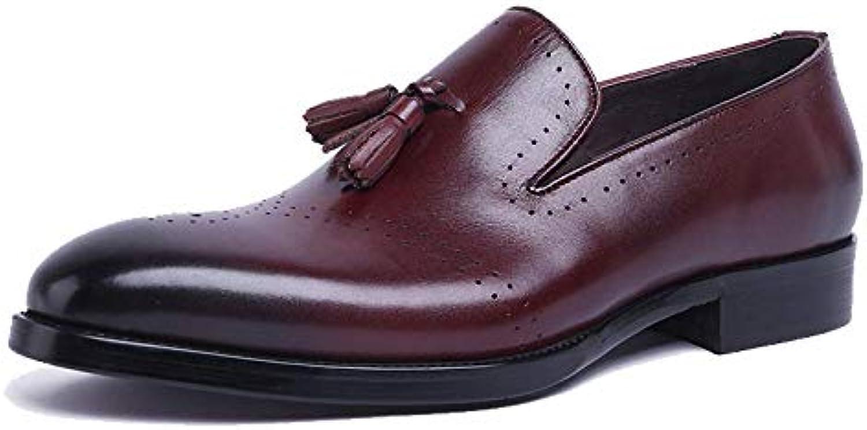 Scarpe da Uomo in Pelle Scarpe da Lavoro Business Fashion Scarpe da Sposa Traspiranti Comfort | Nuovo design  | Uomini/Donne Scarpa