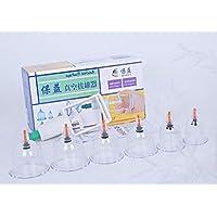 BG-YUFI YF Schröpfglas, 6 Dosen Schaum Vakuum Schröpfen Pumpen Schröpfen Set - preisvergleich bei billige-tabletten.eu