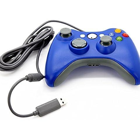 LUFA juegos Ferroviario Wired juego pad controlador Joypad para Microsoft Xbox 360Slim