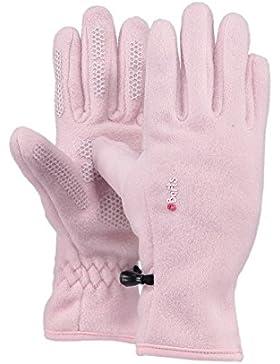 Barts Fleece Glove Kids, Guanti Bambini Unisex, Colore Rosa, Taglia 8-10 Anni (Taglia Produttore: 5)