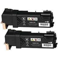 2 Toner Compatibili per Xerox Phaser 6500DN, 6500N, WorkCentre 6505DN,