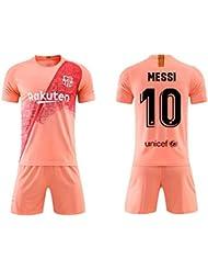 huge selection of 85d5d fcda4 SEYE1 ° Combinaison Sportive, Maillot De Barcelone, Vêtement De Sport De  Football Messi N