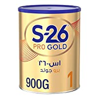 Wyeth Nutrition S26 Pro Gold Stage 1, 0-6 Months Premium Starter Infant Formula 900g