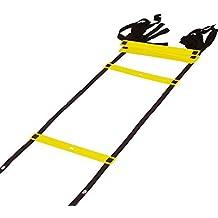 SUMERSHA scala di ritmo e velocità di scale, Scala per esercizi di agilità di calcio-ball, colore: giallo