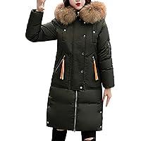 Hanomes Damen pullover, Frauen Winter Warm Faux Pelzmantel Mit Kapuze Dicke Warme Dünne Lange Jacke Mantel preisvergleich bei billige-tabletten.eu