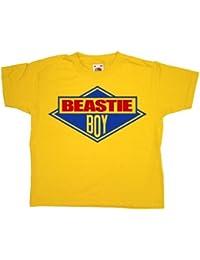 Refugeek Tees - Enfants Beastie Boy T Shirt - 3-4 years - Yellow