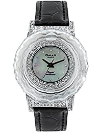 Omax Analog Mother of pearl Dial Unisex's Watch - TS155