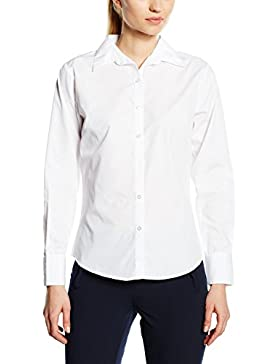 Premier Workwear Ladies Poplin Long Sleeve Blouse, Blusa para Mujer
