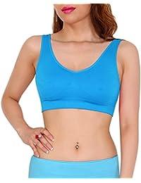 SODACODA Sport Fitness Yoga BH ohne Bügel und ohne Polsterung