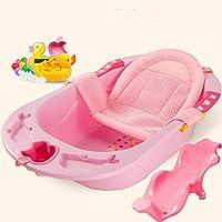 Bañera Plegable para niños, bañera para niños, bañera para bebés, bañera, lactante, baño Caliente, recién Nacido, Sentado, acostado, niños, bañera