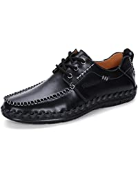 New Comfortable Casual Shoes For Men Leather Shoes Flats Soft Male Shoes