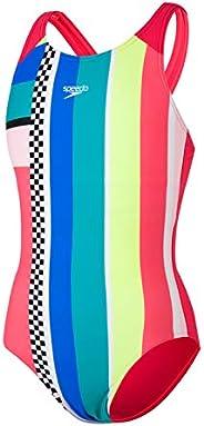 Speedo Digital Placement Pulseback Swimsuit, Junior Girls