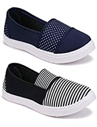WORLD WEAR FOOTWEAR Women's Sneaker (Set of 2 Pairs)