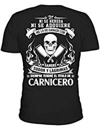 TEEZILY Carnicero - Edición Limitada Camiseta Hombre