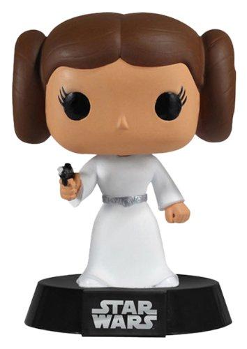 POP! Bobble Funko POP Movie: Star Wars Princess Leia Bobble Head Vinyl Figure