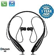 Techfire HBS 730 Wireless Neckband Bluetooth Earphone Headset Earbud Portable Headphone Handsfree Sports Runni
