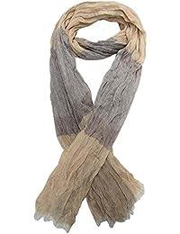 Générique Foulard, chèche écharpe pour homme camel et gris ... 5b99e379db7