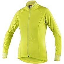 MAVIC Aksium térmico de invierno para mujer chaqueta de ciclismo para 2016 verde, color , tamaño M (38/40)