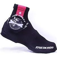 iShiné Cubrezapatos Térmico Impermeable A Prueba de Viento Chanclos Protector MTB Bicicleta de Montaña