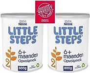 Little Steps 2 Flesvoeding Standaard 6+ Maanden - 2 Blikken Van 800 Gram - babyvoeding