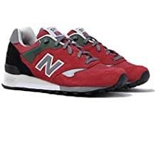 New Balance M577 ETR Note Red Made in England Trainers-UK 6.5