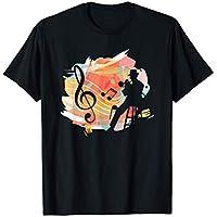 Clave Músico Musical Instrumentos Jazz Trompeta Regalo Camiseta