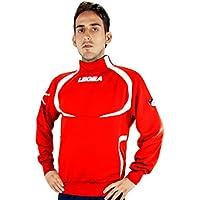Legea giaccia Tokio Tornado suéter Deportivo de Las Mujeres Rojo Rojo y Blanco Talla:M