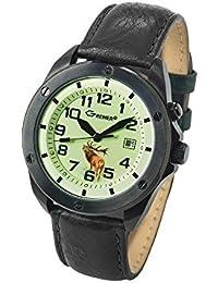 Greiner Ansitzuhr 'Waidmannsheil' reloj per cazador 1212-TF