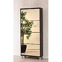 meuble rangement chaussures miroir. Black Bedroom Furniture Sets. Home Design Ideas