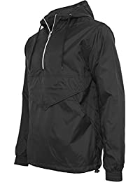 URBAN CLASSICS - Pull Over Windbreaker (black)