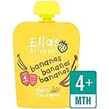 Cuisine Organique Lisse Purée De Banane Étape 1 De 70G Ella - Paquet de 6
