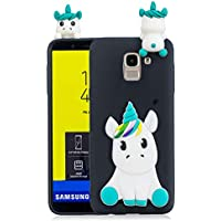 Everainy Samsung Galaxy J6 2018 Silikon Hülle Ultra Slim 3D Einhorn Muster Ultradünn Hüllen Handyhülle Gummi Case... preisvergleich bei billige-tabletten.eu