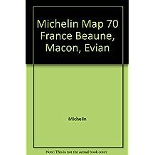 Beaune / Macon / Evian (Michelin Detailed Maps)