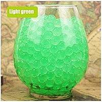 GQDZ 100pcs / bolso colorido del suelo del fango perla del gel polímero de hidrogel de la bola de cristal en maceta perlas de agua Grow jalea mágica de boda Decoración F nutrientes del suelo en maceta