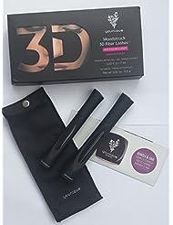 Brand New YOUNIQUE's 3D  PLUS MOODSTRUCK MASCARA FIBER & GEL Tubes in BOX