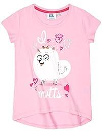 ea9a92cdfd138 Comme des Bêtes Tee Shirt Manches Courtes Enfant Fille Rose de 4 à 10ans