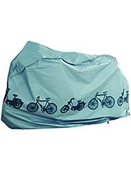 Filmer 110 x 185 - Bolsa para sillín de bicicletas, color plata, talla única