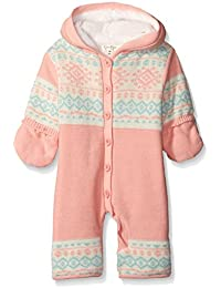 Jessica Simpson Girls' Sweater Knit Pram with Jersey Lining
