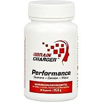 Braincharger Performance - gegen Müdigkeit + für geistige Leistung mit Guarana, Koffein, Maca, Ginkgo, Carnitin... preisvergleich bei fajdalomcsillapitas.eu