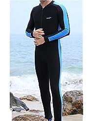 Hombres de transpirable deportes neopreno, natación, Surfing, buceo, Waveboard traje, una pieza, mono UV protector solar playa bañadores
