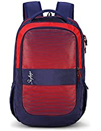 Skybags Zia 47 Ltrs Red Laptop Backpack (SBZIA02RED)