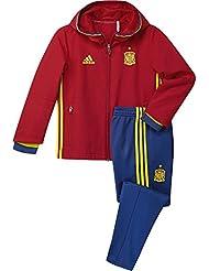 adidas Federación Española de fútbol Euro 2016 - Chándal de presentación para niño