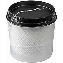 und Bratenschnur 60m weiß Polyester Küchengarn Faden Schnur Garn WESTMARK Grill