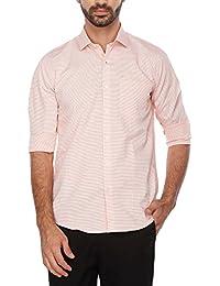 Turtle Mens Slim Collar Stripe Shirt