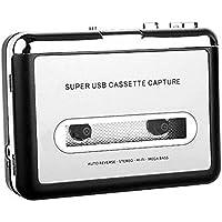 Big Group - Convertidor de Cinta a PC USB Cassette-to-mp3 CD Capture Digital Audio Music Player
